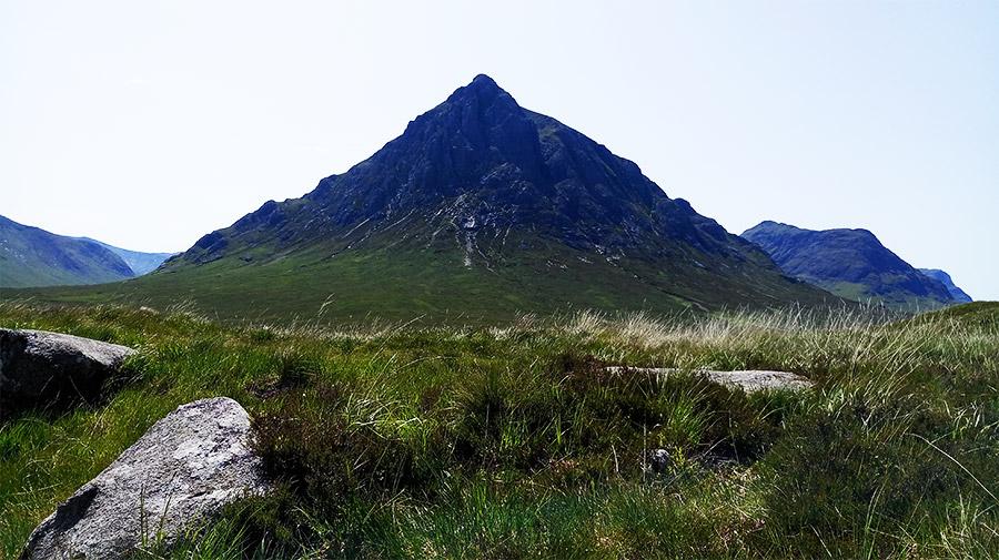 Le Buachaille Etive Mor, un des sommets les plus photographiés d'Ecosse