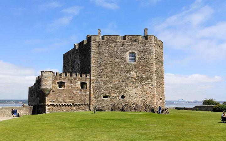 Blackness Castle Edimbourg