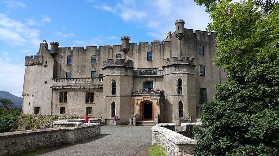 Entrée du château de Dunvegan
