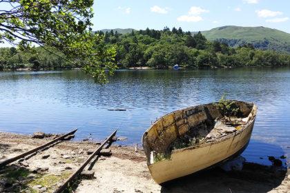 Loch Lomond, ile de Inchconnachan