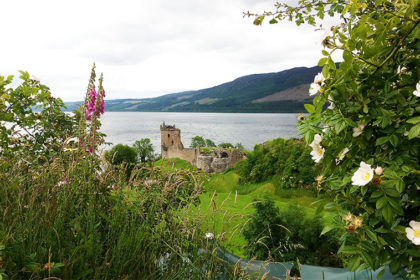 Urquhart Castle, sur les bords du Loch Ness