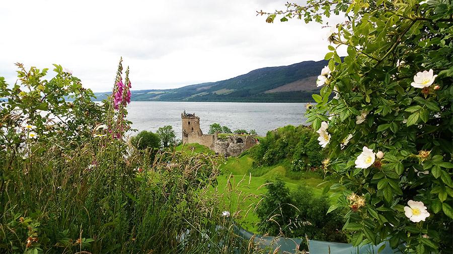 Urquhart Castle, sur les bords du Loch Ness