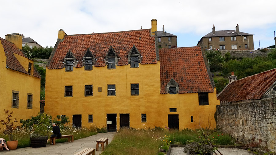 Culross Palace, vu dans la série Outlander