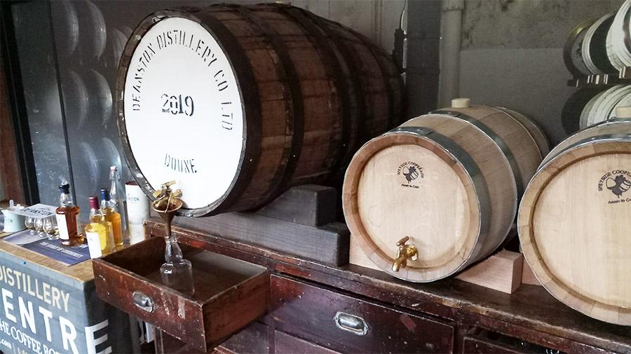 Deanston Distillery, distillerie de whisky à quelques minutes du Doune Castle