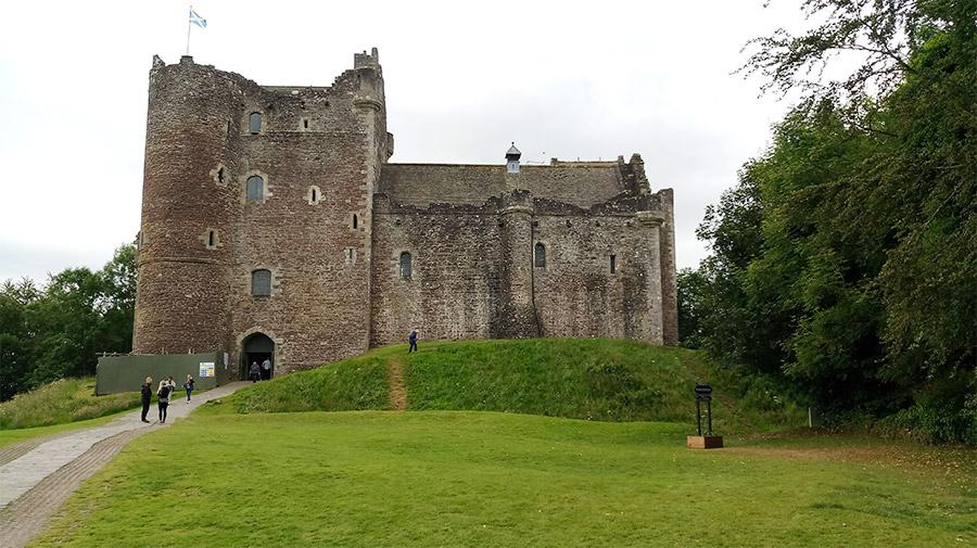 Doune Castle, vu dans la première saison de la série Game of Thrones (Winterfell)