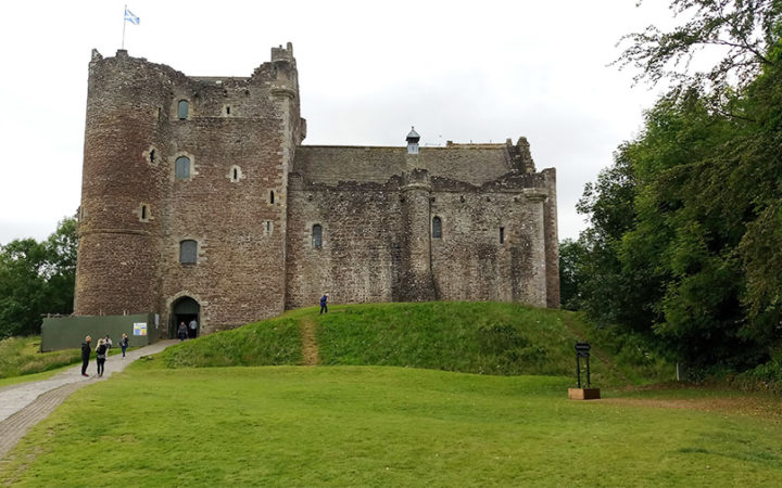Doune Castle vu dans Game of Thrones Winterfell