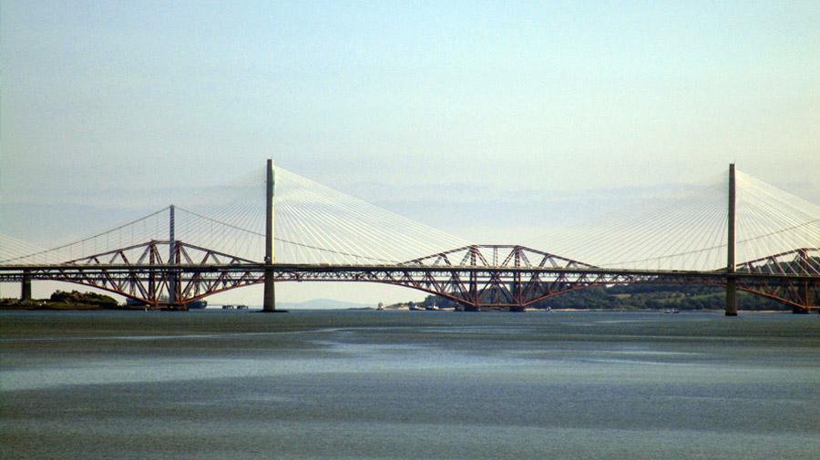 Forth Bridge, l'immense pont qui nous mène à Edimbourg