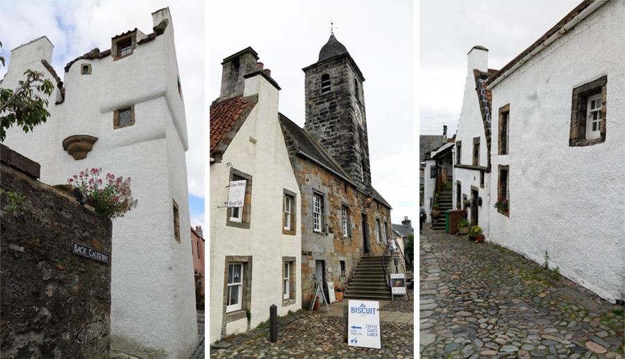 Quelques maisons typiques du village de Culross