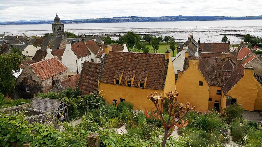 Le village de Culross, un des plus pittoresques d'Ecosse