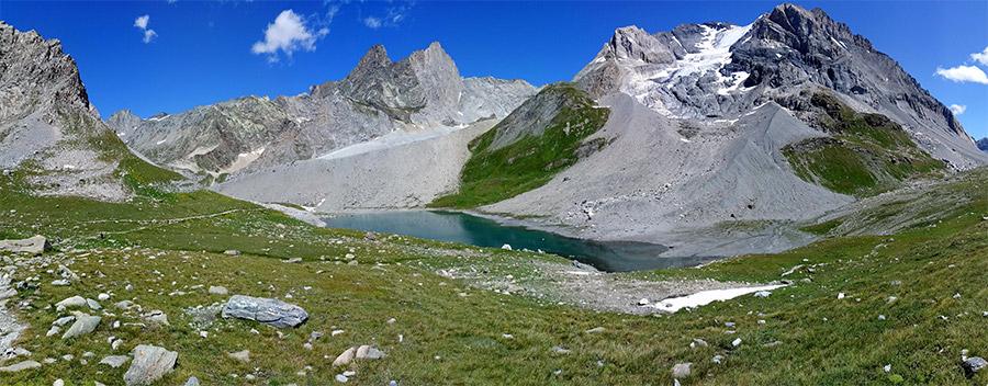 Le lac long, juste en dessous du refuge du col de la Vanoise